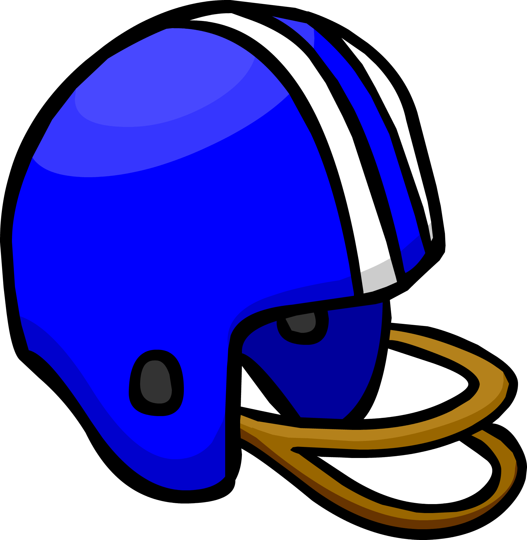 Green football clipart helmet against helmet picture transparent library Blue Football Helmet | Club Penguin Wiki | FANDOM powered by Wikia picture transparent library