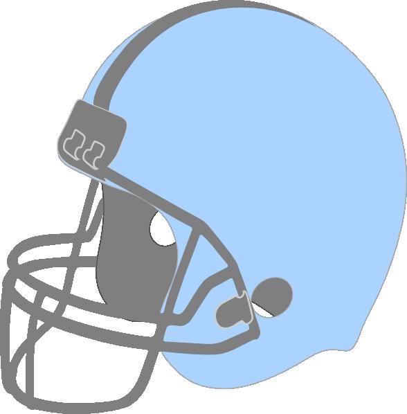 Blue football helmet clipart clip art freeuse Blue Football Helmet Facing Left Clip Art at Clker.com - vector clip ... clip art freeuse