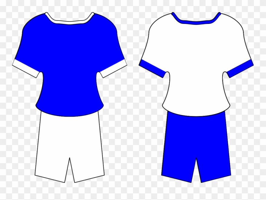 Blue football jersey clipart royalty free download Football Shirt Clipart - Football Kit Clipart - Png Download ... royalty free download