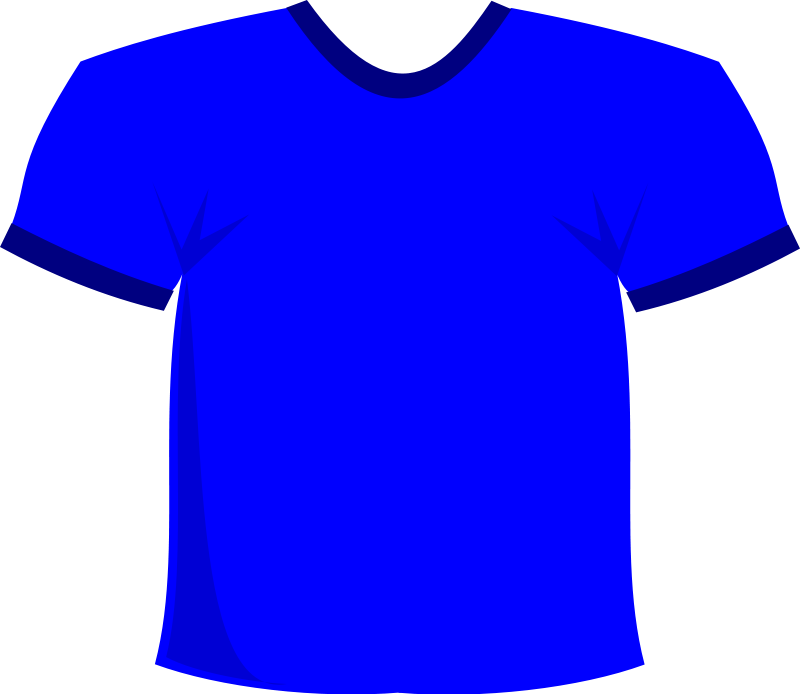 Blue football jersey clipart png black and white Free Football Jersey Clipart, Download Free Clip Art, Free Clip Art ... png black and white
