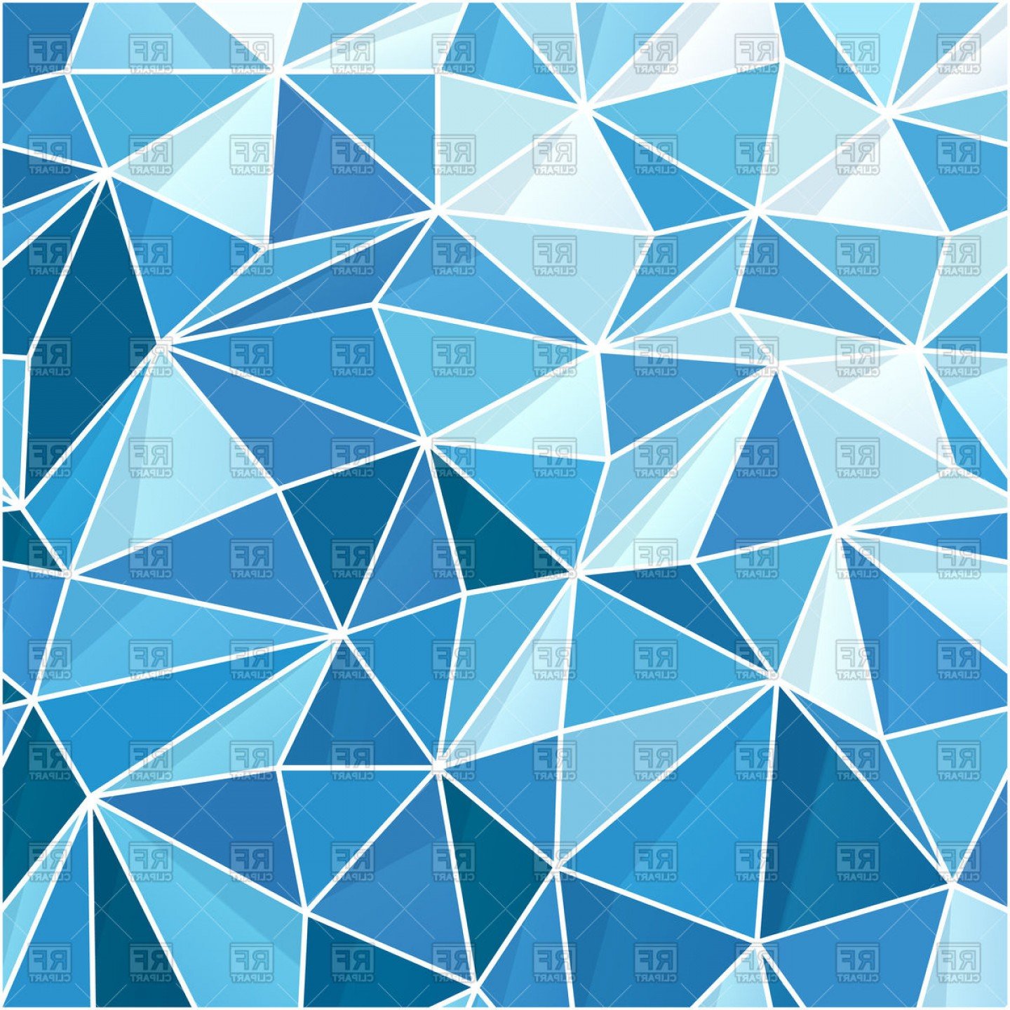 Blue geometric background clipart royalty free Geometric Vector Art Backgrounds | lamaison royalty free