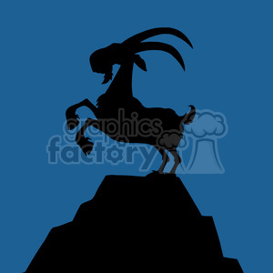 Blue goat clipart royalty free download goat clipart - Royalty-Free Images | Graphics Factory royalty free download