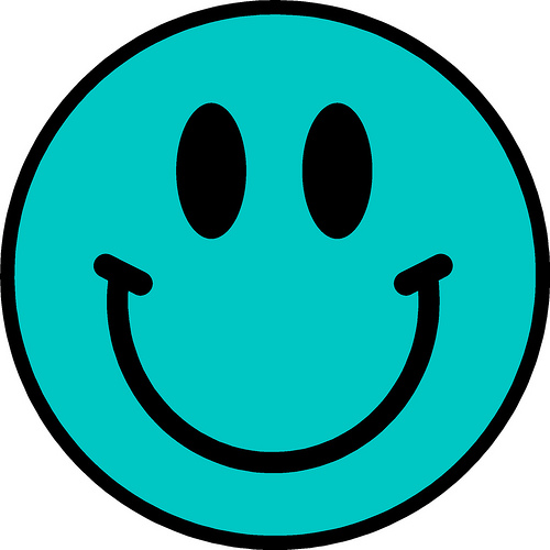 Blue happy face clipart clip art black and white library Blue Smiley Face Png | Clipart Panda - Free Clipart Images clip art black and white library
