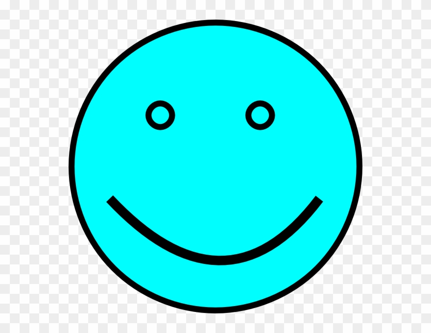 Blue happy face clipart image freeuse download Light Blue Smiley Face Clipart (#110760) - PinClipart image freeuse download