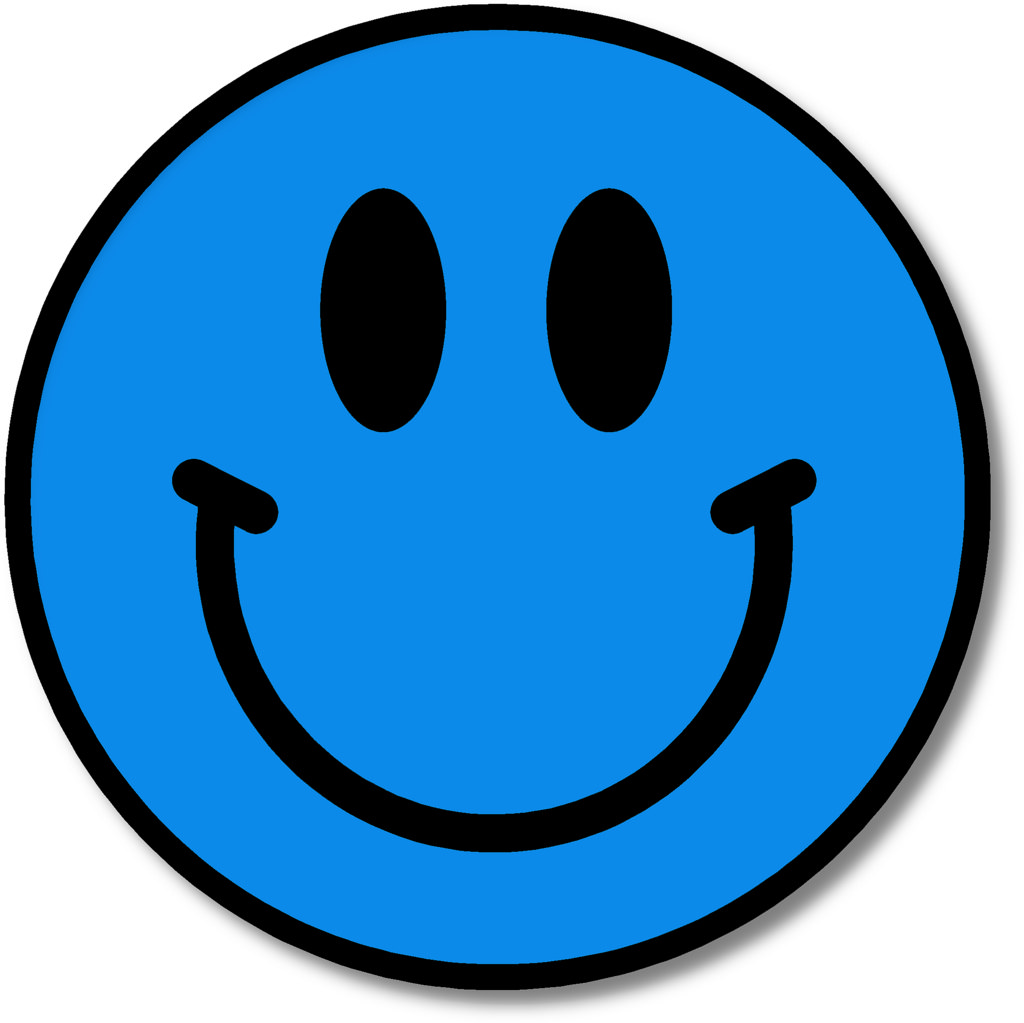 Blue happy face clipart clip library library Free Happy Face Cliparts, Download Free Clip Art, Free Clip Art on ... clip library library