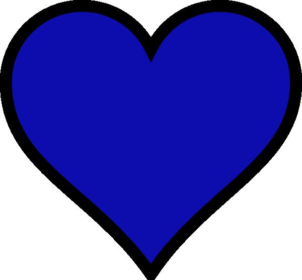 Blue Heart Clip Art at Clker.com - vector clip art online, royalty ... royalty free download