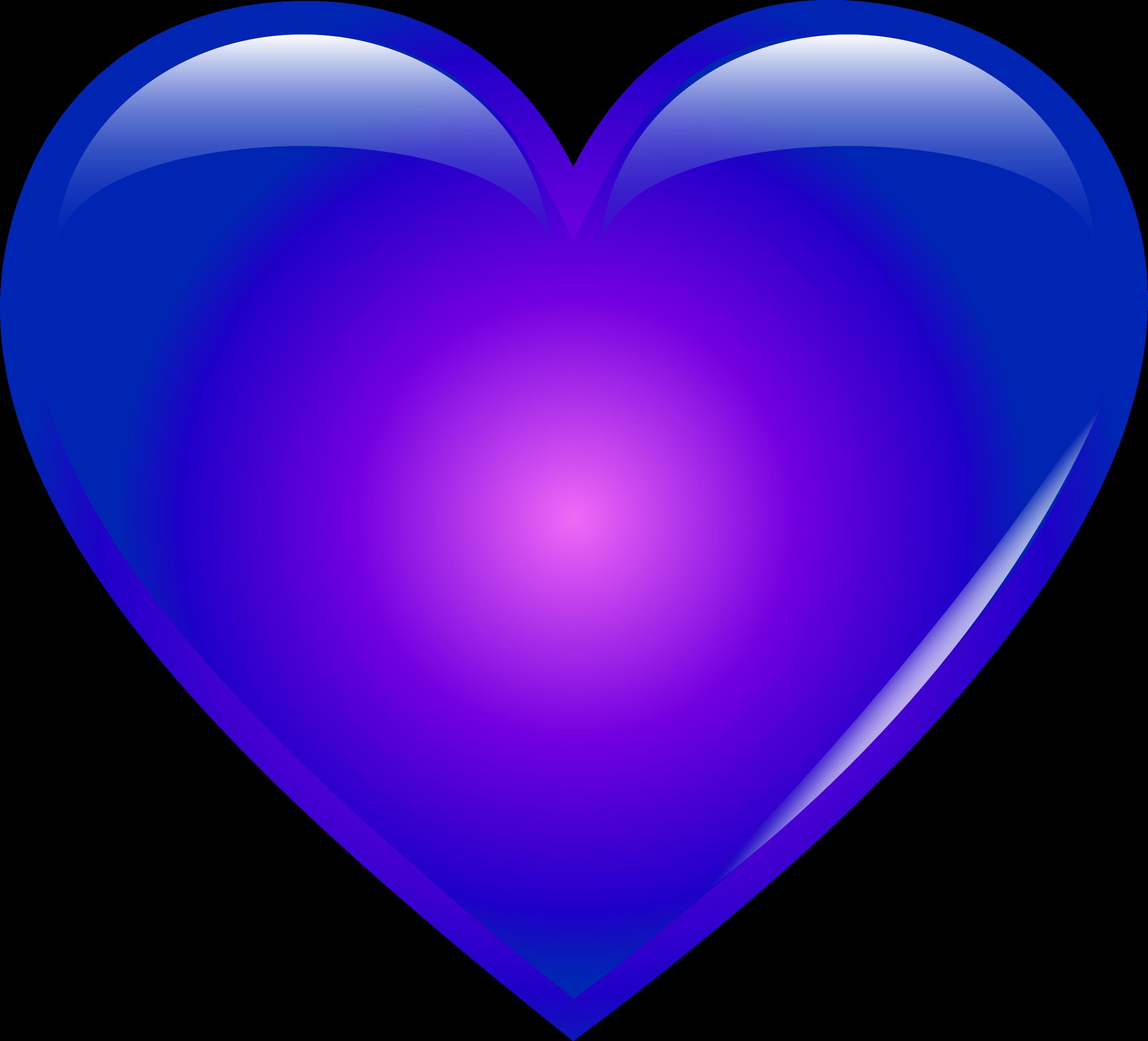 Blue heart clipart transparent image royalty free Clipart - Blue Heart image royalty free