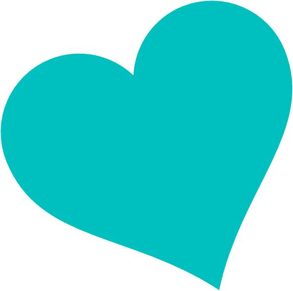 Blue Heart Clip Art at Clker.com - vector clip art online, royalty ... banner royalty free download