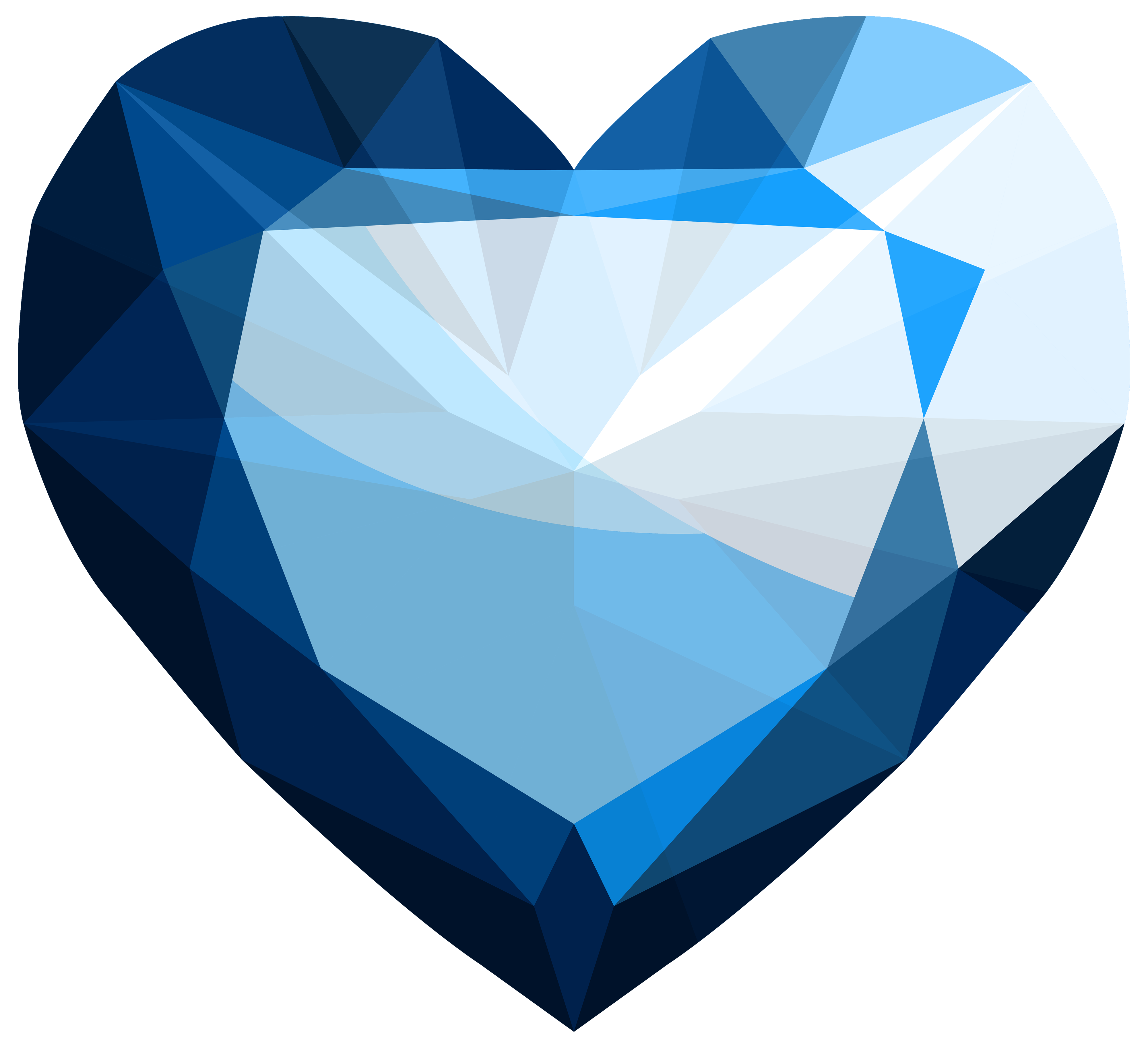 Heart diamond clipart graphic royalty free Sapphire Heart PNG Clipart - Best WEB Clipart graphic royalty free