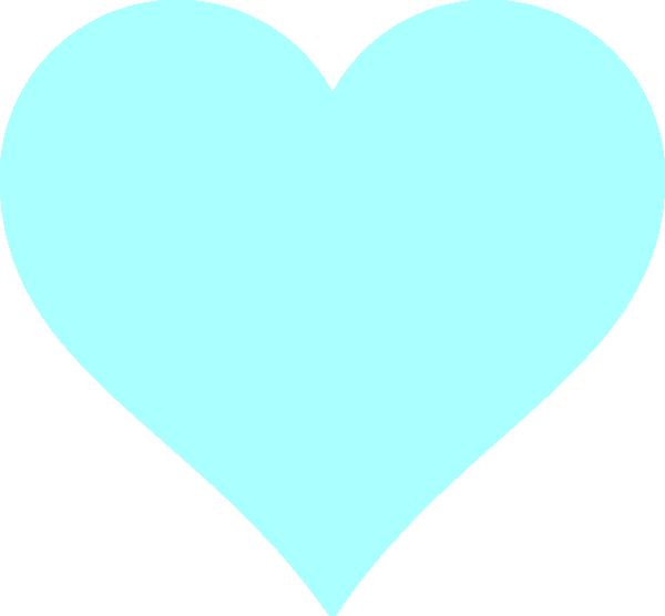 Blue heart clipart transparent jpg freeuse Blue Heart Clip Art at Clker.com - vector clip art online, royalty ... jpg freeuse