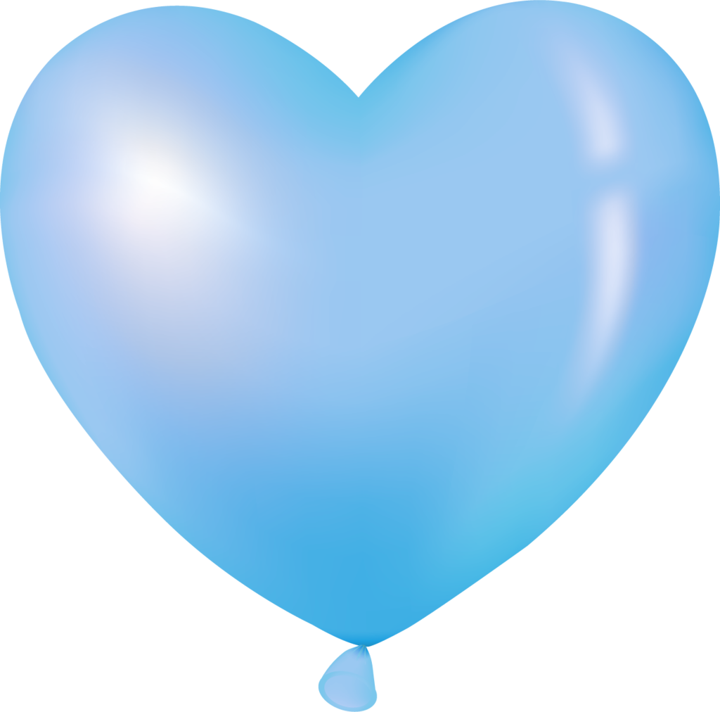 Blue heart clipart transparent svg free library Воздушные шарики | Pinterest | Heart balloons, Clip art and Birthday ... svg free library