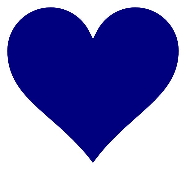 Blue heart clipart transparent graphic transparent Blue Heart Clip Art at Clker.com - vector clip art online, royalty ... graphic transparent