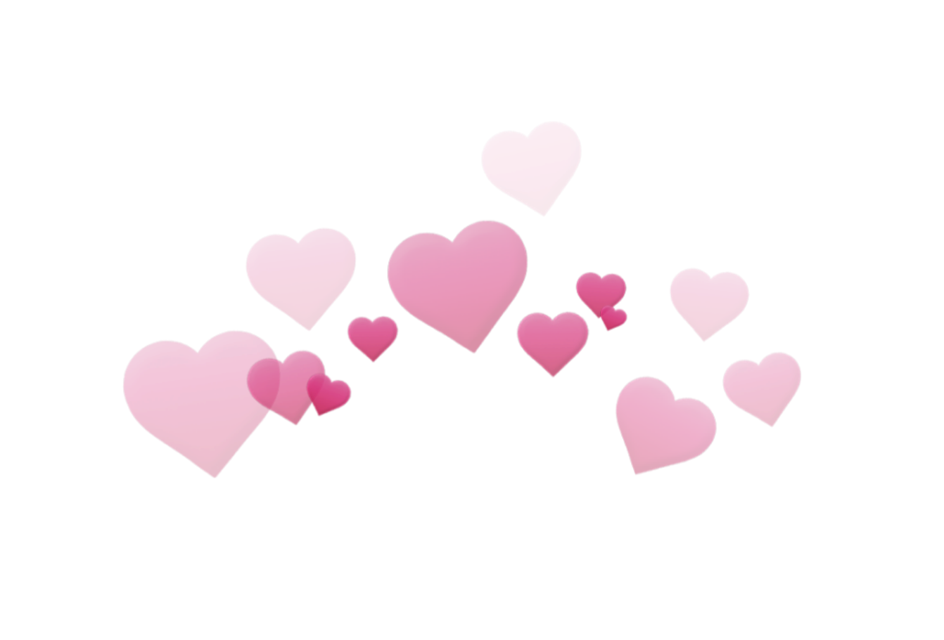 Heart with crown clipart transparent png free stock heart heartcrown crown cute pink tumblr... png free stock