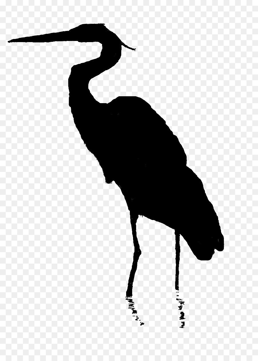 Blue heron silhouette clipart svg black and white download Bird Line Drawing clipart - Bird, Illustration, Silhouette ... svg black and white download