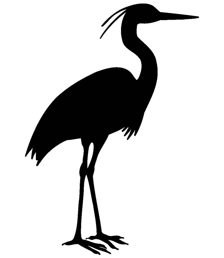 Blue heron silhouette clipart vector library stock Blue Heron Silhouette (107+ images in Collection) Page 1 vector library stock