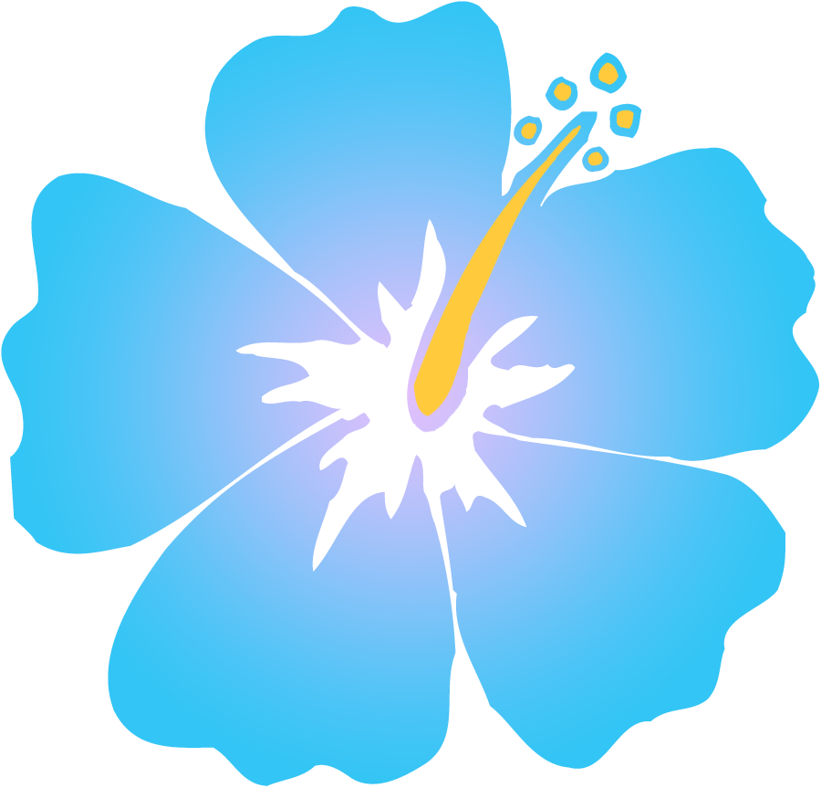 Blue hibiscus flower clipart clipart library download 28+ Collection of Blue Hibiscus Flower Clipart | High quality, free ... clipart library download