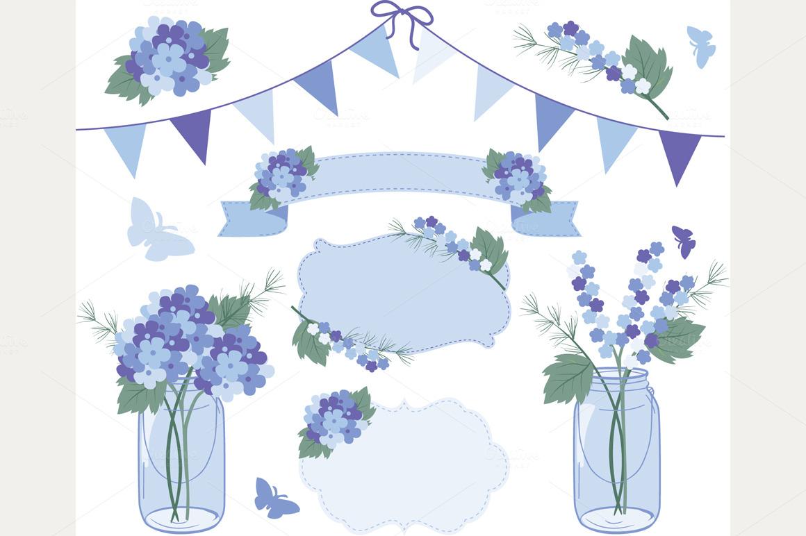 Blue hydrangea clipart free jpg transparent stock Free Purple Hydrangea Cliparts, Download Free Clip Art, Free Clip ... jpg transparent stock