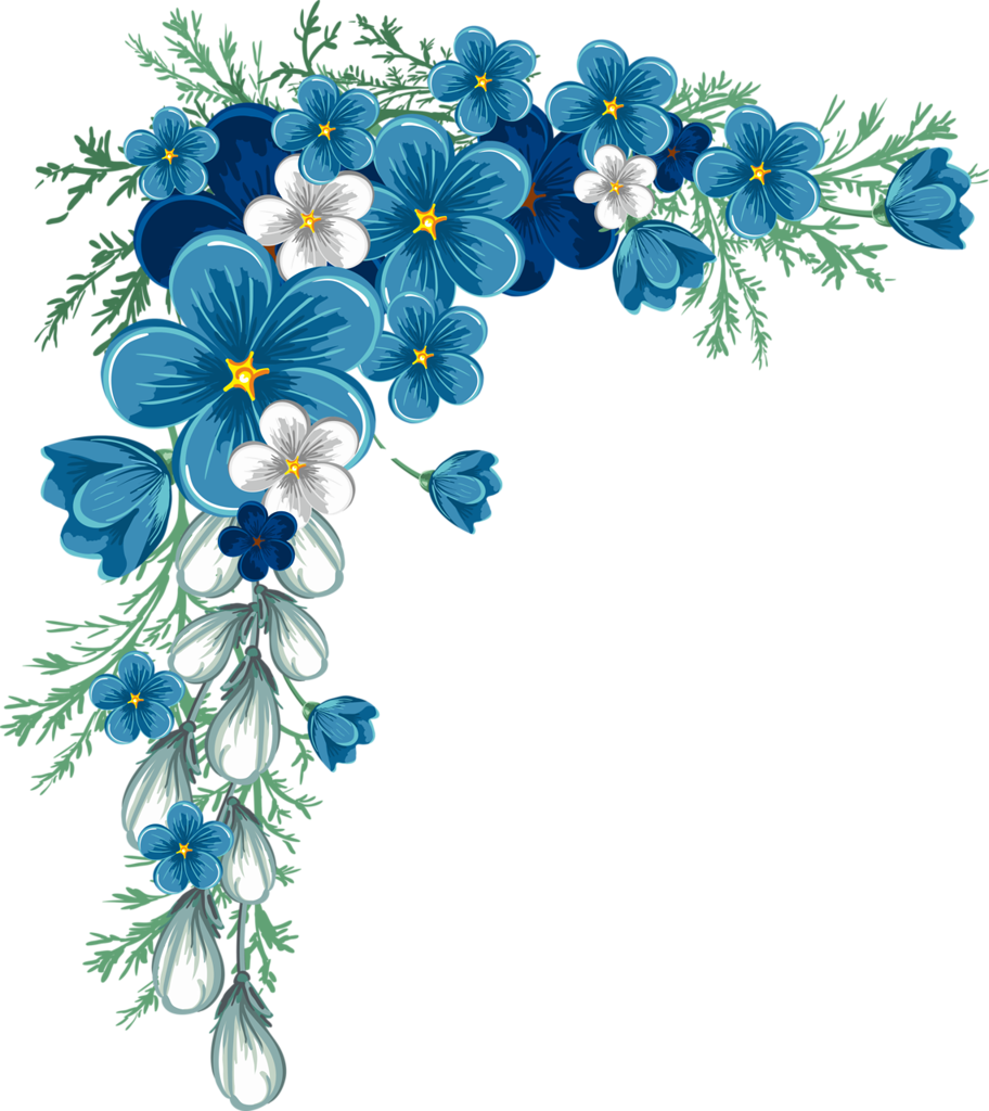 Blue jasmine flower clipart banner free download 0_64762_703f1e17_orig.png | Pinterest | Layouts, Corner and Decoupage banner free download