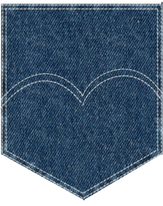 Blue jean pocket clipart picture download Jean pocket clipart clipart images gallery for free download ... picture download
