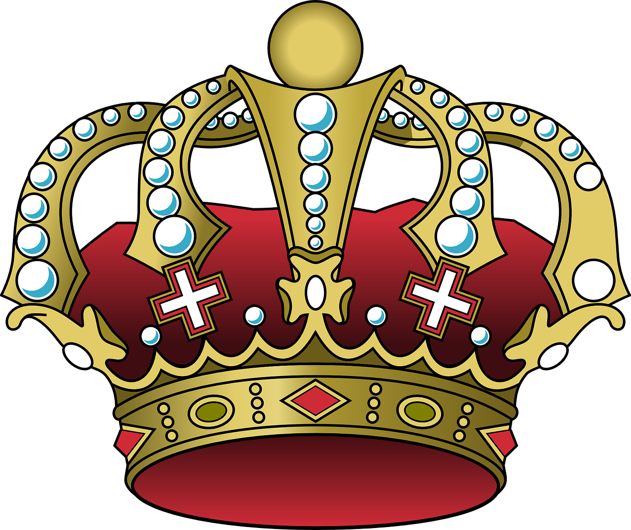 Blue king crown clipart clip transparent library Leave the Crown in the Garage.