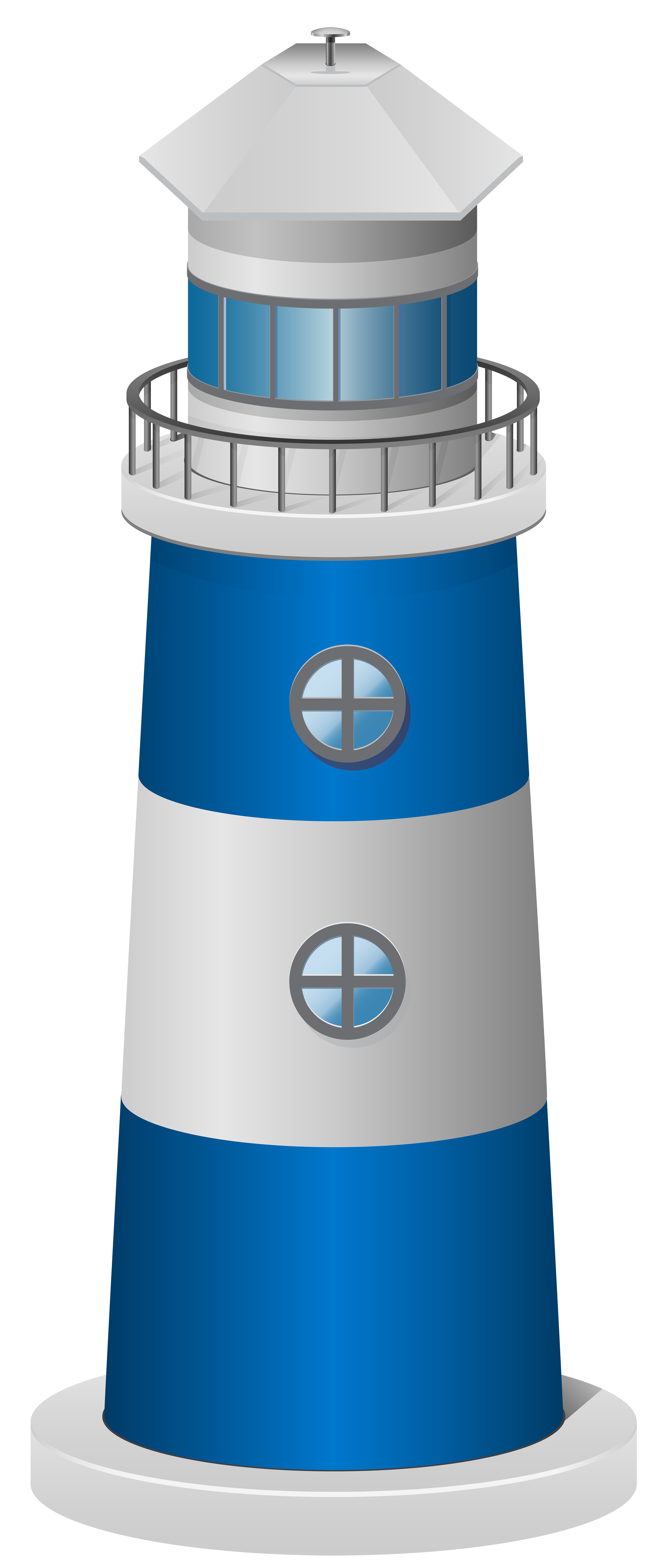 Blue light house clipart image free library Lighthouse Blue PNG Clip Art Image | Gallery Yopriceville - High ... image free library