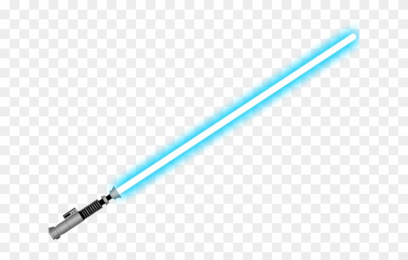 Blue lightsaber clipart black and white download Sci Fi Clipart Light Saber - Blue Lightsaber, HD Png Download ... black and white download