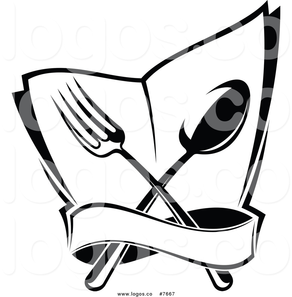 Dinner menu clipart