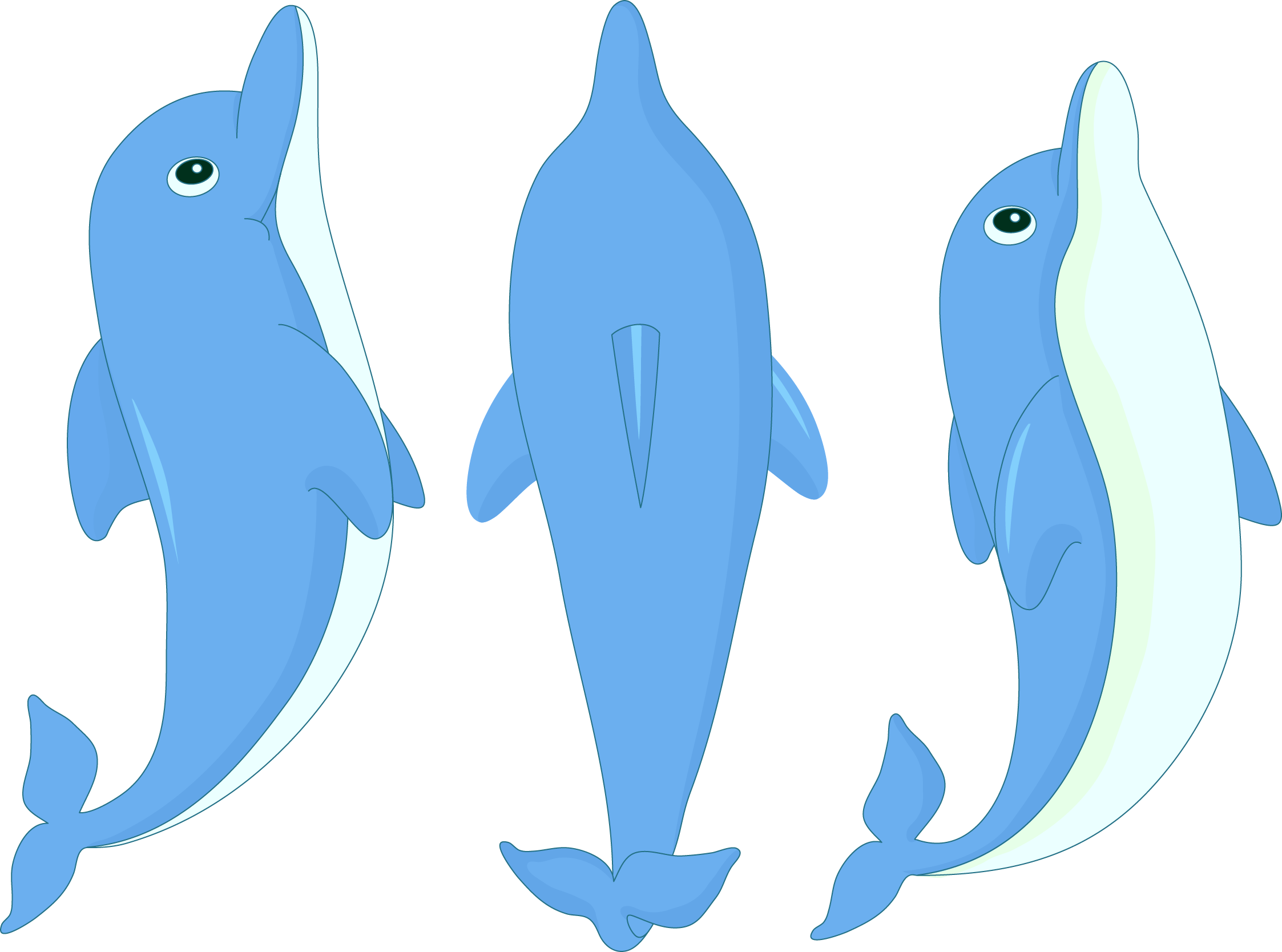Cartoon Dolphin Clipart at GetDrawings.com | Free for personal use ... image library library