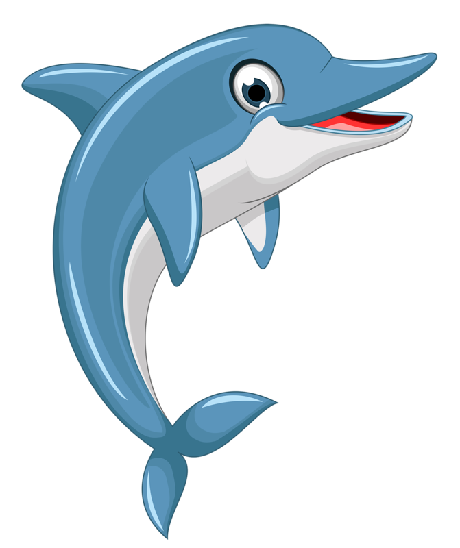 Blue marlin fish clipart vector free download Cute cartoon dolphin jumping out of water | Pinterest | Cartoon, Art ... vector free download