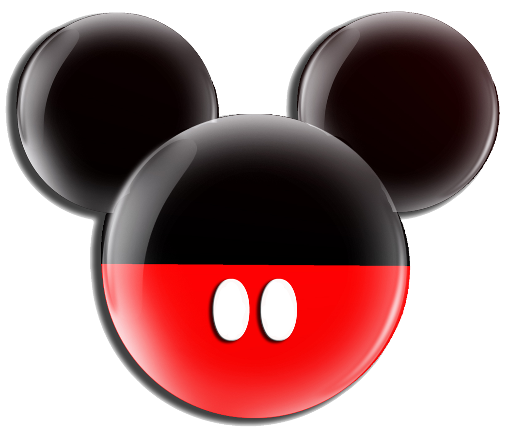 Mickey Mouse Head Silhouette Clip Art at GetDrawings.com | Free for ... black and white download