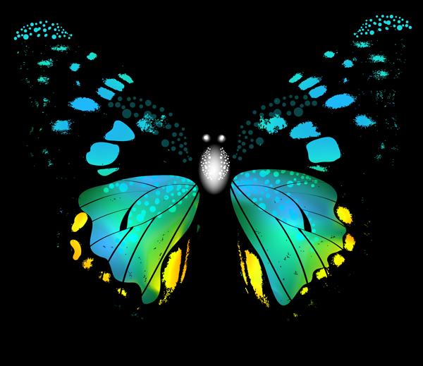 Blue money clipart clip transparent download Blue Colorful Butterfly PNG Clip Art Image | Graphics | Pinterest ... clip transparent download