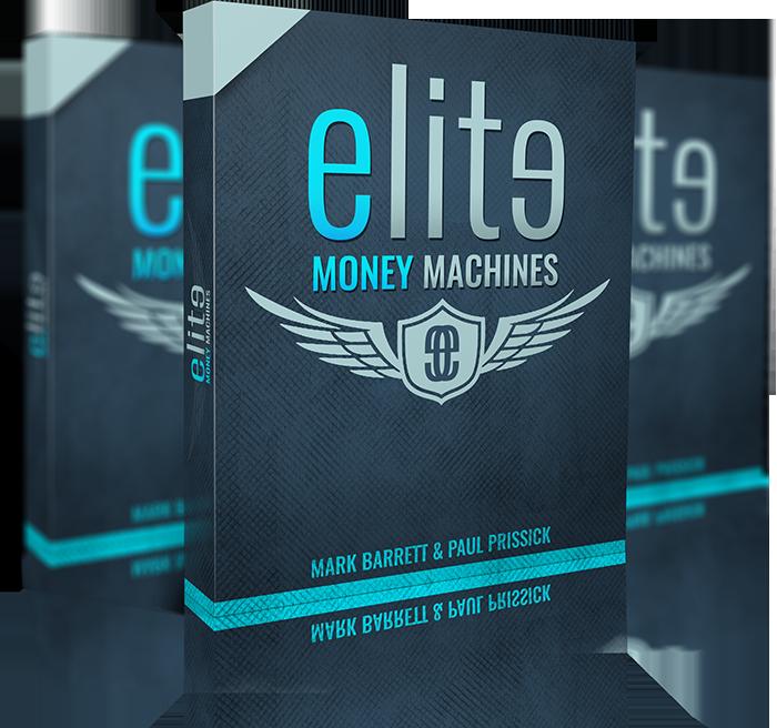 Blue money machine clipart vector freeuse stock Elite Money Machines vector freeuse stock