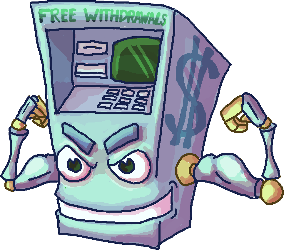 Atm Machine Drawing at GetDrawings.com | Free for personal use Atm ... clip freeuse download