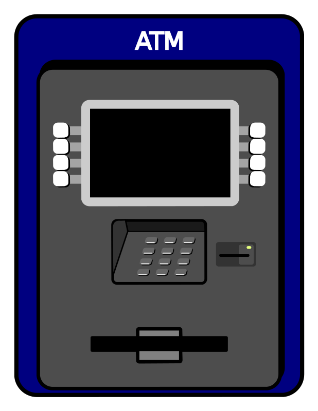 Free Simple Atm Machine Clip Art | bulletin boards | Pinterest ... picture royalty free download