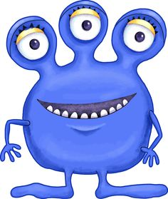 Blue monster clipart image library download 40 Best Monster Clipart images in 2018 | Monster Party, Cute ... image library download