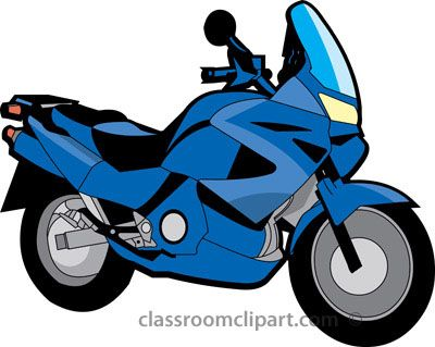 Blue motorcycle clipart image Motorcycle Clip Art Photos | Clipart Panda - Free Clipart ... image