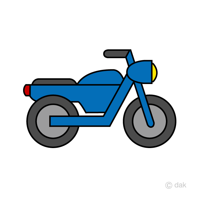 Mototrcycle clipart transparent download Simple Motorcycle Clipart Free Picture|Illustoon transparent download