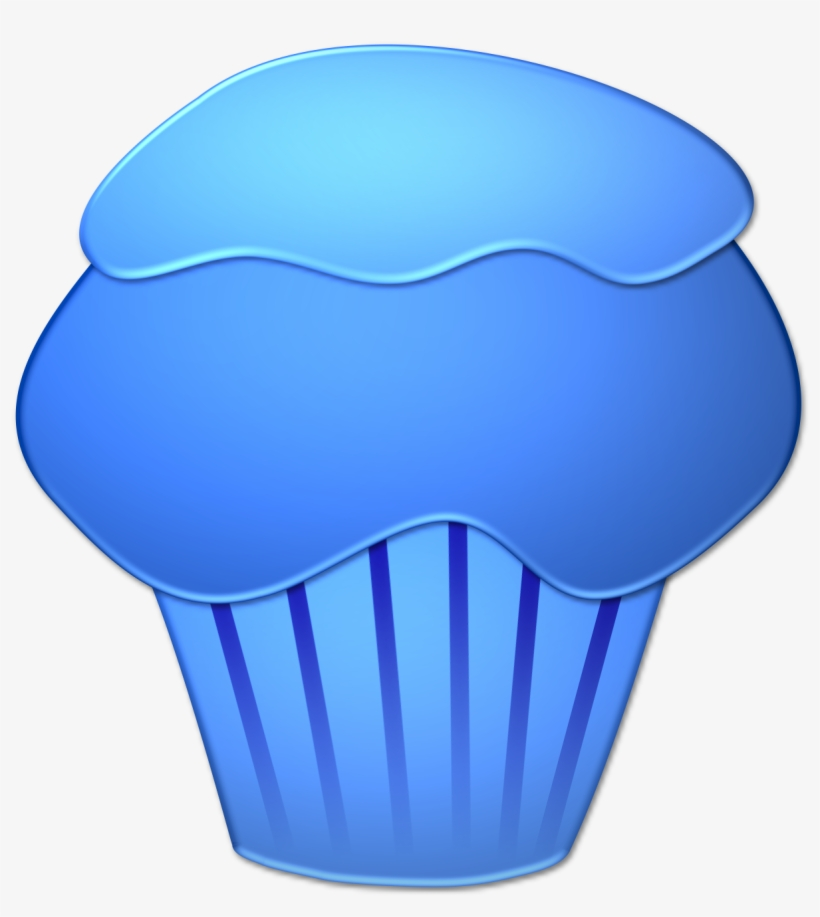 Blue muffin clipart clipart free stock Blueberry Muffin Clipart Transparent - Blue Cupcake Clip Art ... clipart free stock