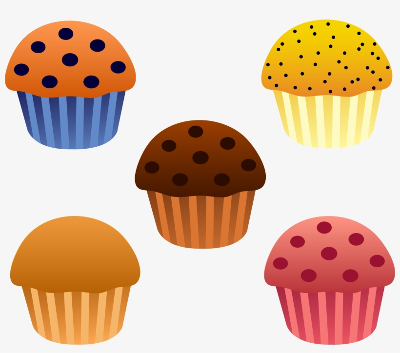 Blue muffin clipart picture Blueberry Muffin Vector - Muffins Clipart - Free Transparent PNG ... picture