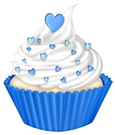 Blue muffin clipart banner royalty free library Blue Cupcakes Cliparts - Cliparts Zone banner royalty free library