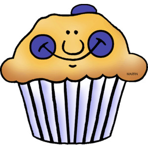 Blue muffin clipart graphic royalty free library Muffins Clipart Group with 59+ items graphic royalty free library