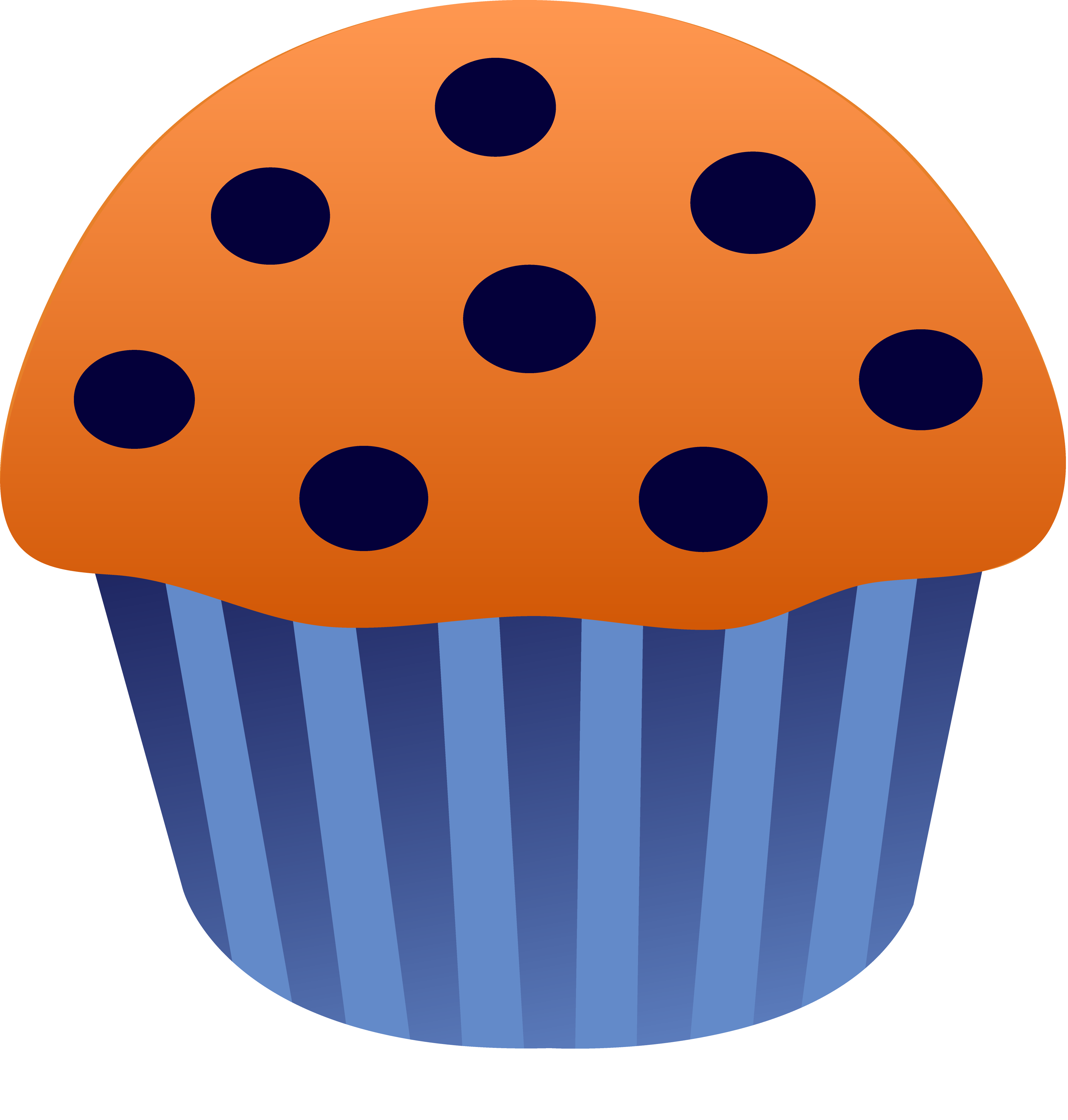 Blue muffin clipart clip freeuse stock Blueberry Muffin Vector - Free Clip Art clip freeuse stock