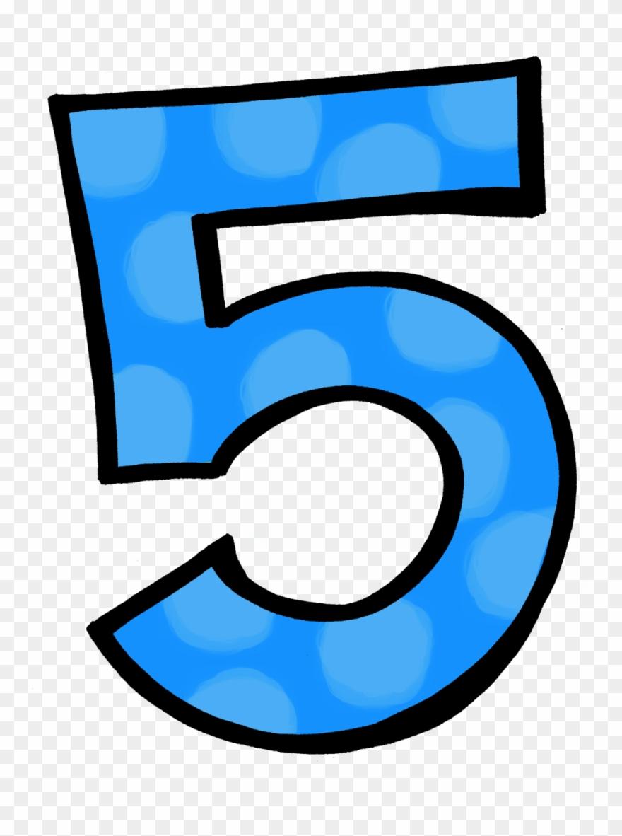 Blue number clipart banner Blue Clipart Number - Clipart Number 5 Frozen - Png Download (#24407 ... banner