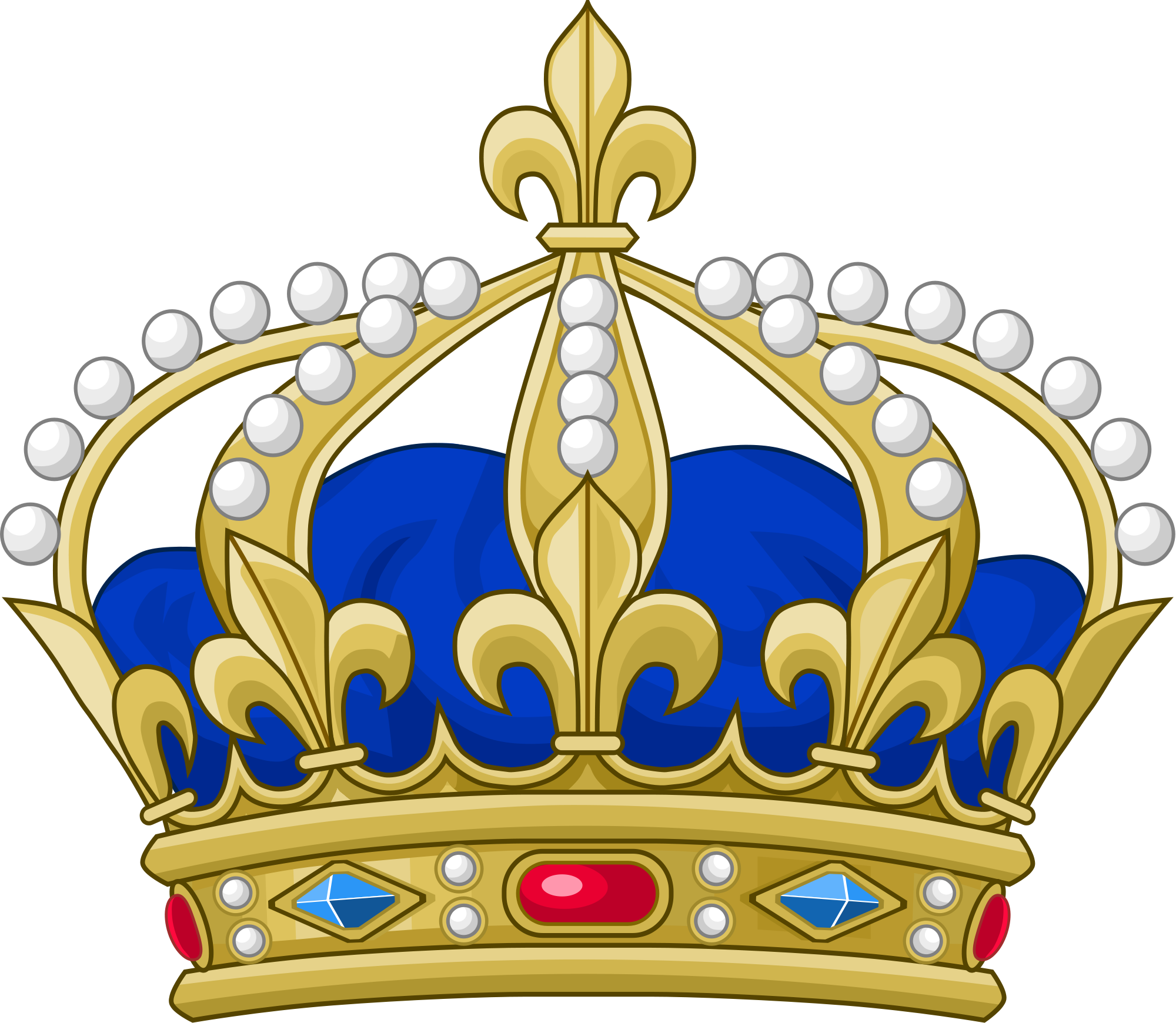 Blue pageant crown clipart clipart transparent download 2000px-Royal_Crown_of_France.svg.png (2000×1740) | CORONAS | Pinterest clipart transparent download