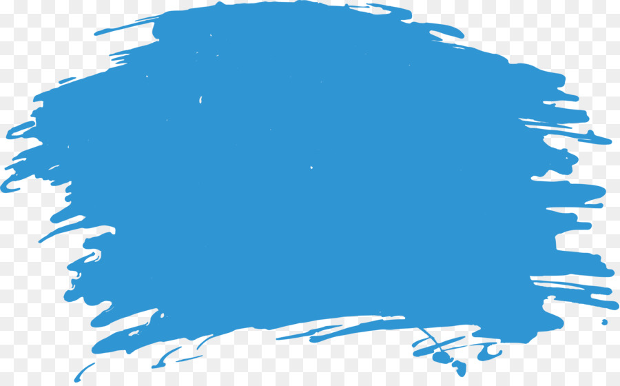 Blue paint brush clipart png library stock Paint Brush Cartoon clipart - Painting, Blue, Graphics, transparent ... png library stock