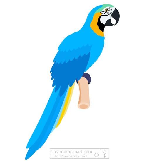 Blue parrot clipart png free Blue macaw parrot clipart » Clipart Portal png free