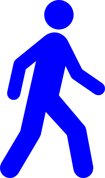 Walking man clipart png library download Free Blue Man Cliparts, Download Free Clip Art, Free Clip Art on ... png library download