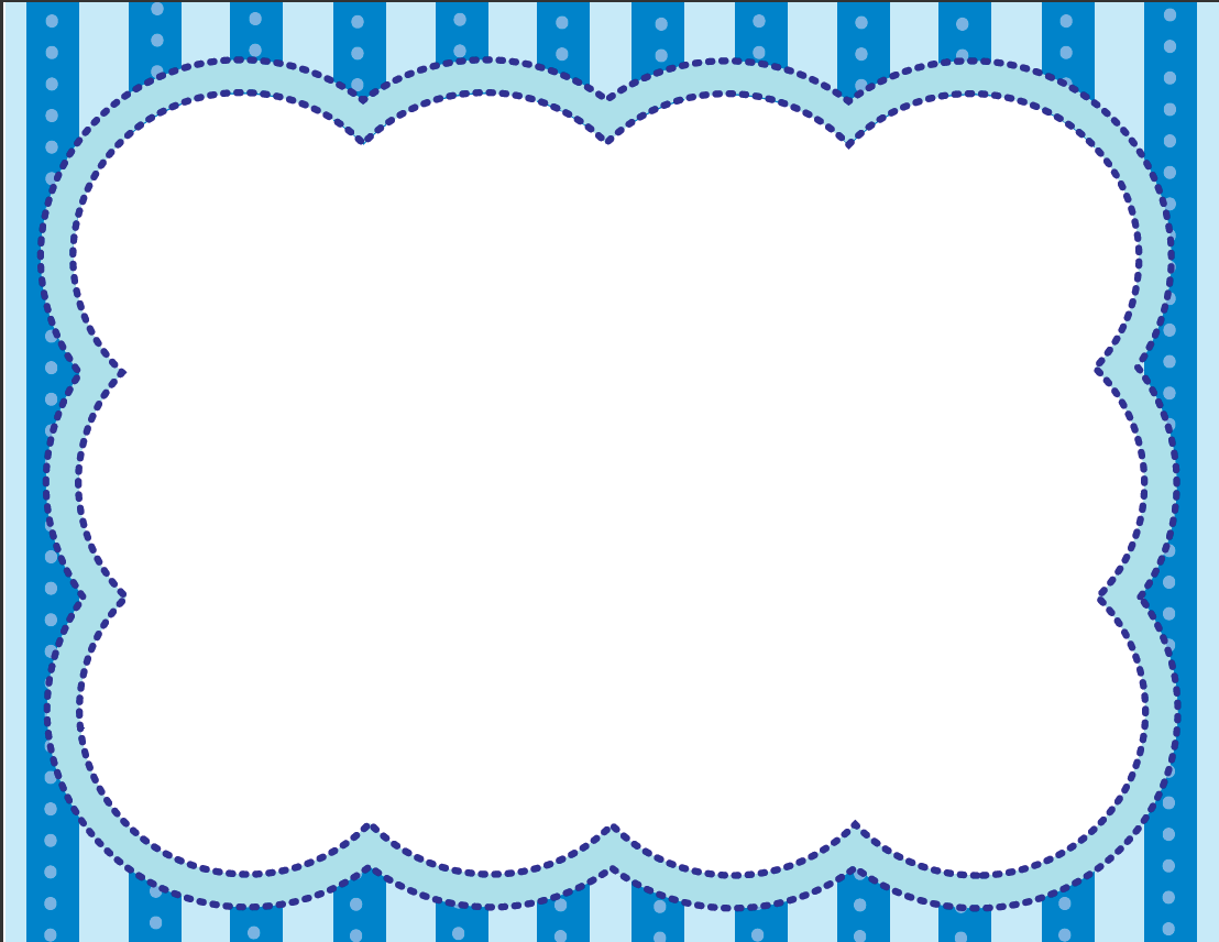 Blue photo frame clipart png black and white library Blue frame clipart 3 » Clipart Portal png black and white library