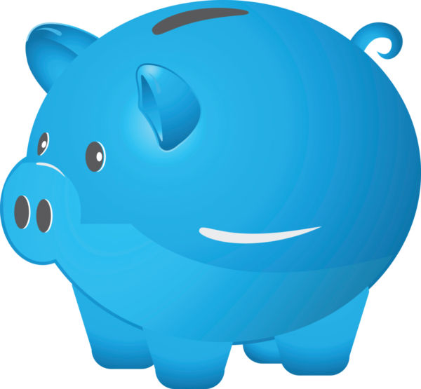 Blue piggy bank clipart vector black and white stock Free Clip art of Bank Clipart #2297 Best Blue Piggy Bank Clipart ... vector black and white stock