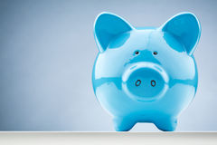 Blue piggy bank clipart image library library Blue Piggy Bank Stock Photography - Image: 4688562 image library library